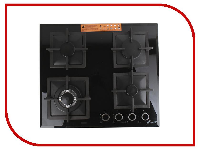 Варочная панель Fornelli PGT 60 Calore Black газовая варочная панель fornelli pgt 30 calore bl