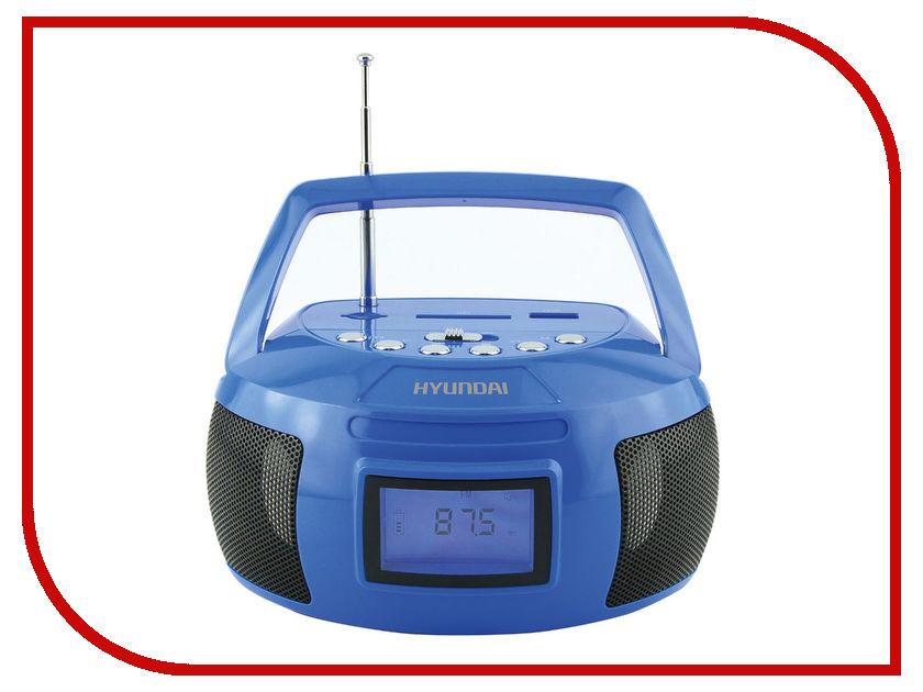 Магнитола Hyundai H-PAS160 Blue сплит система hyundai h ar21 07h