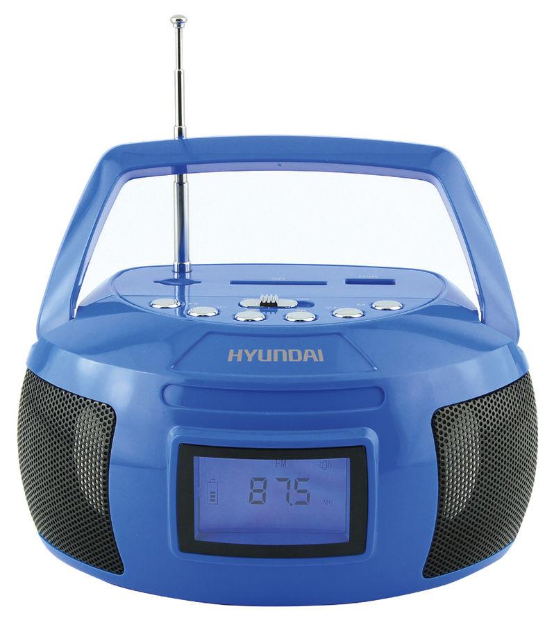 Магнитола Hyundai H-PAS160 Blue