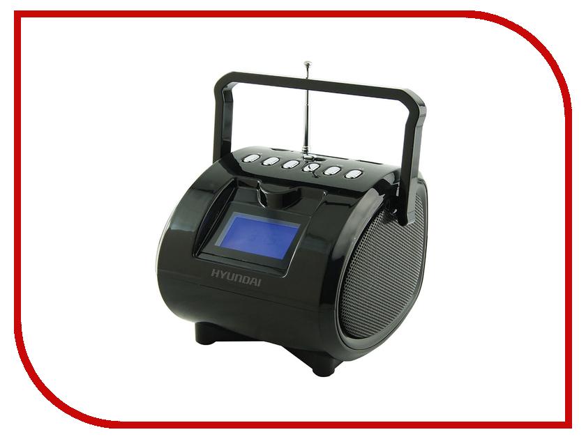 Минисистема Hyundai H-PAS180 Black