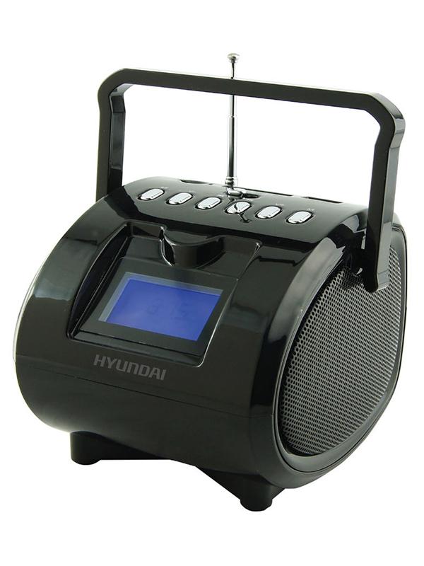 Магнитола Hyundai H-PAS180 Black