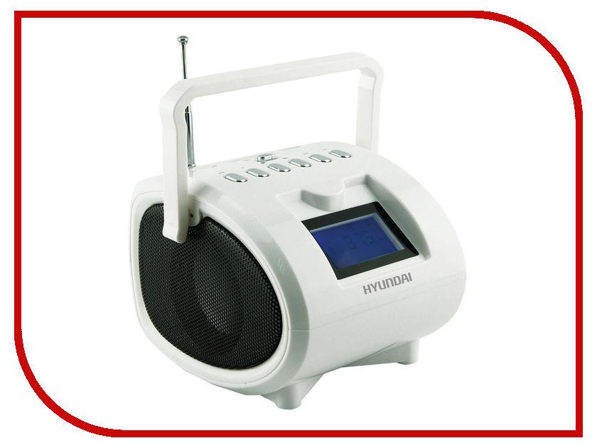 Магнитола Hyundai H-PAS200 White телевизор hyundai h led32r401bs2