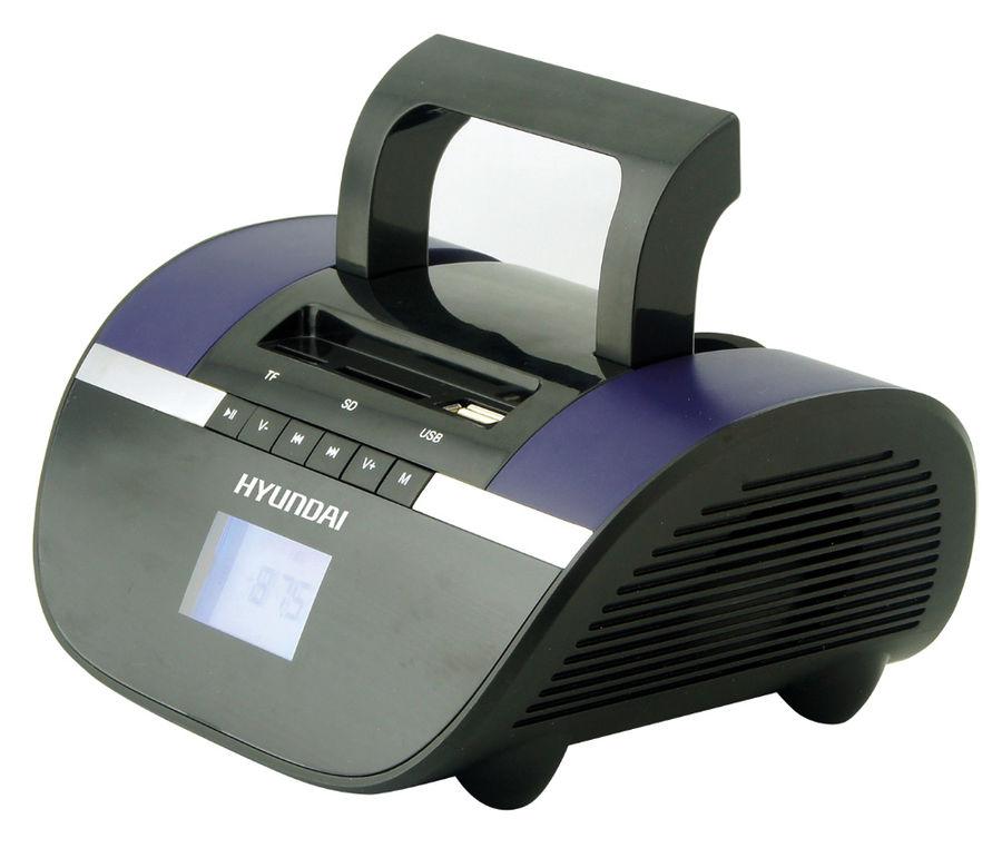 Магнитола Hyundai H-PAS220/H-PAS240 Black-Blue