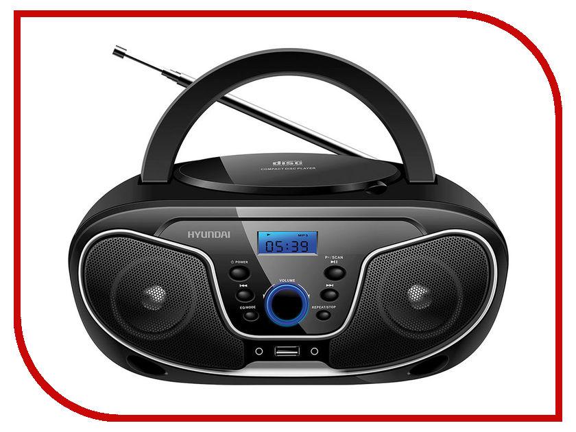 Магнитола Hyundai H-PCD140 Black/Grey цена и фото
