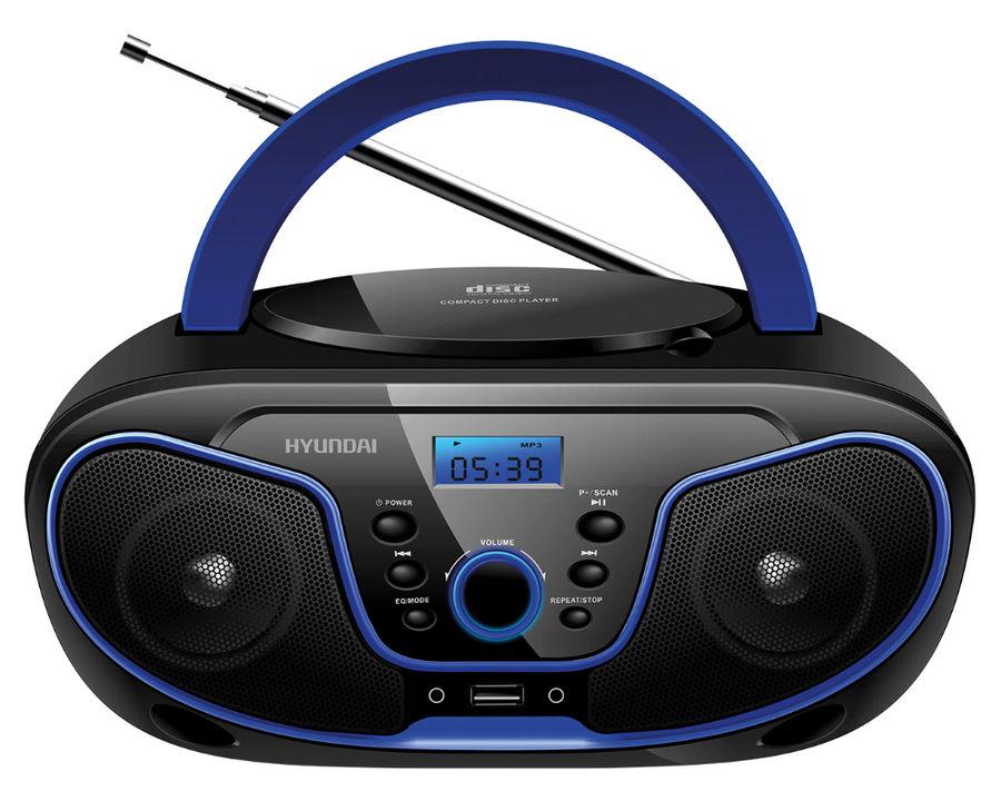 Магнитола Hyundai H-PCD160 Black-Blue hyundai h pcd160 black blue магнитола