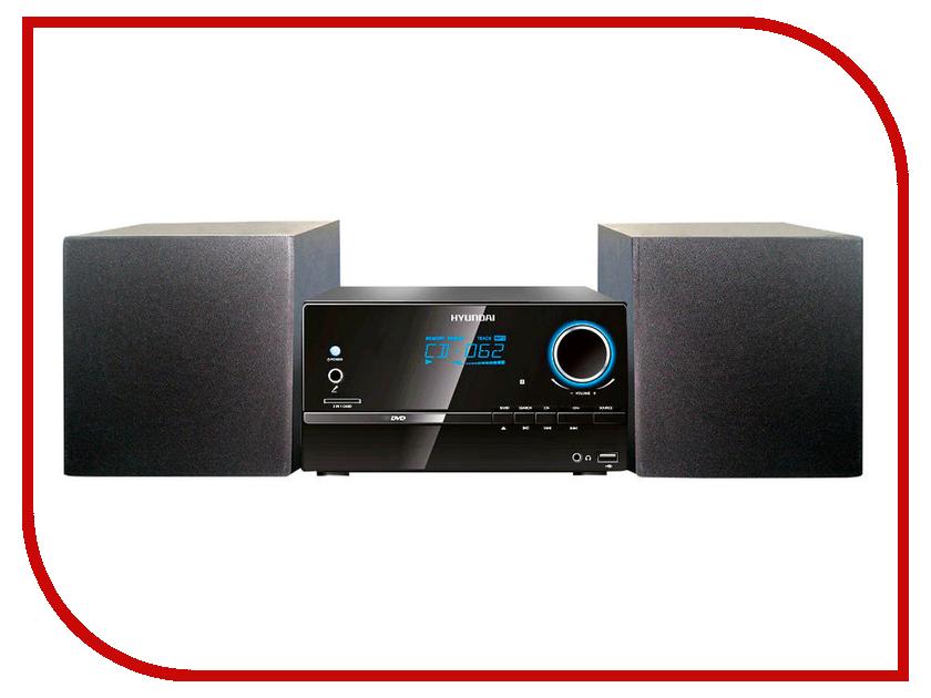 Минисистема Hyundai H-MS220 Black/Silver hyundai h ha220 акустическая система