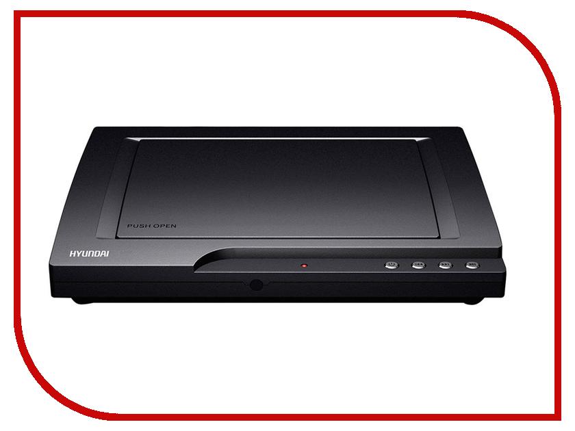 Плеер Hyundai H-DVD140 Black сплит система hyundai h ar21 07h