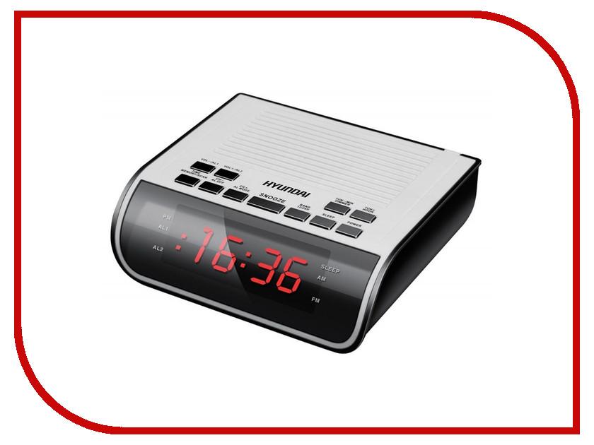 Часы Hyundai H-RCL100 White сплит система hyundai h ar21 07h