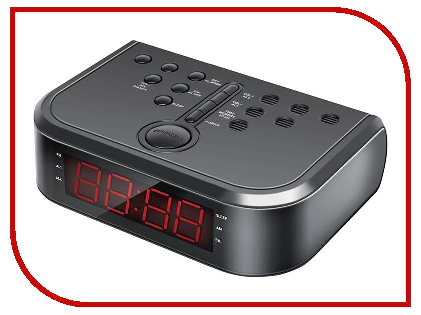 Часы Hyundai H-RCL120 Black кондиционер hyundai h ap3 09h ui004