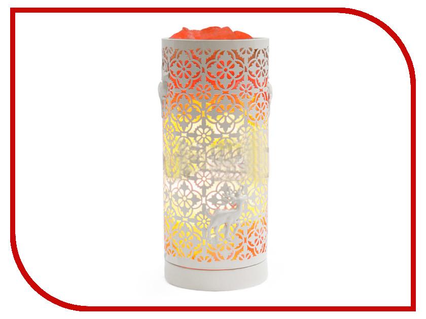 Солевая лампа STAY GOLD Декоративная Цилиндр White