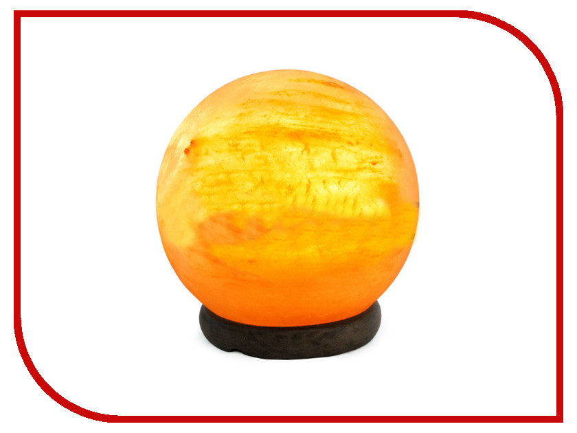Солевая лампа STAY GOLD Декоративно-обработанная Сфера 3-4кг с диммером