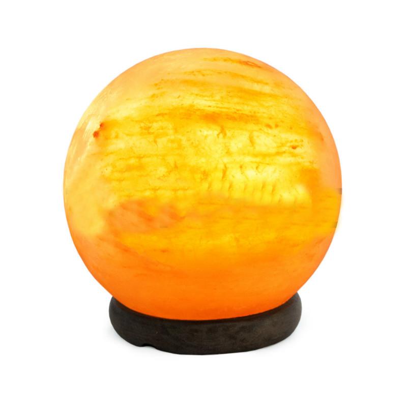 Солевая лампа Stay Gold Сфера 3-4кг с диммером