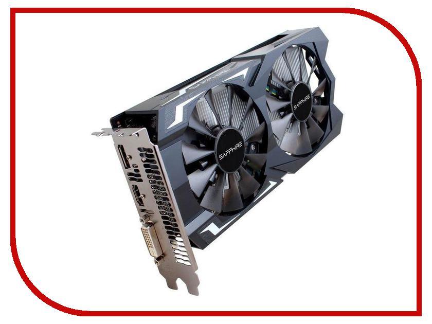Видеокарта Sapphire Pulse Radeon RX 560 OC 1216Mhz PCI-E 3.0 4096Mb 7000Mhz 128 bit DP HDMI DVI HDCP 11267-20-20G windforce видеокарта