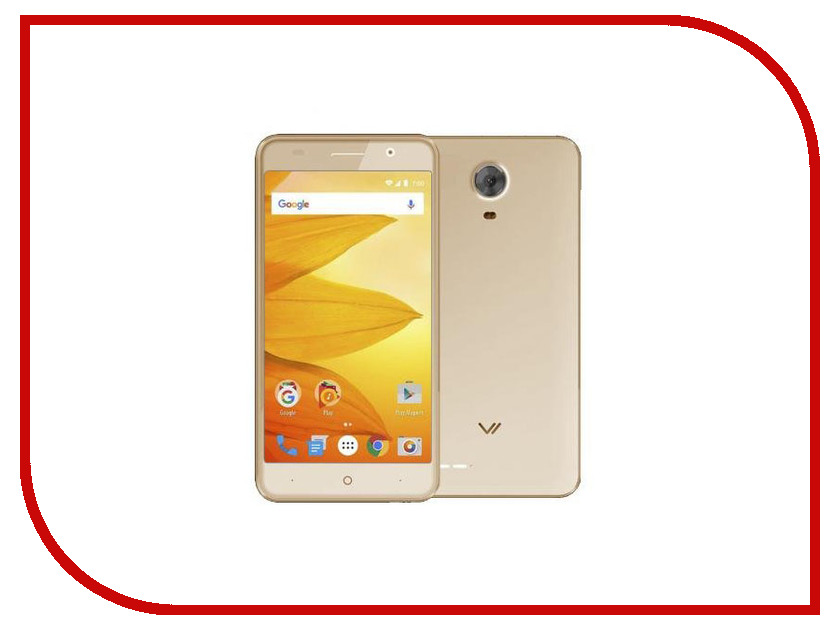 Сотовый телефон Vertex Impress Sun LTE Gold vertex vertex impress lion 4g