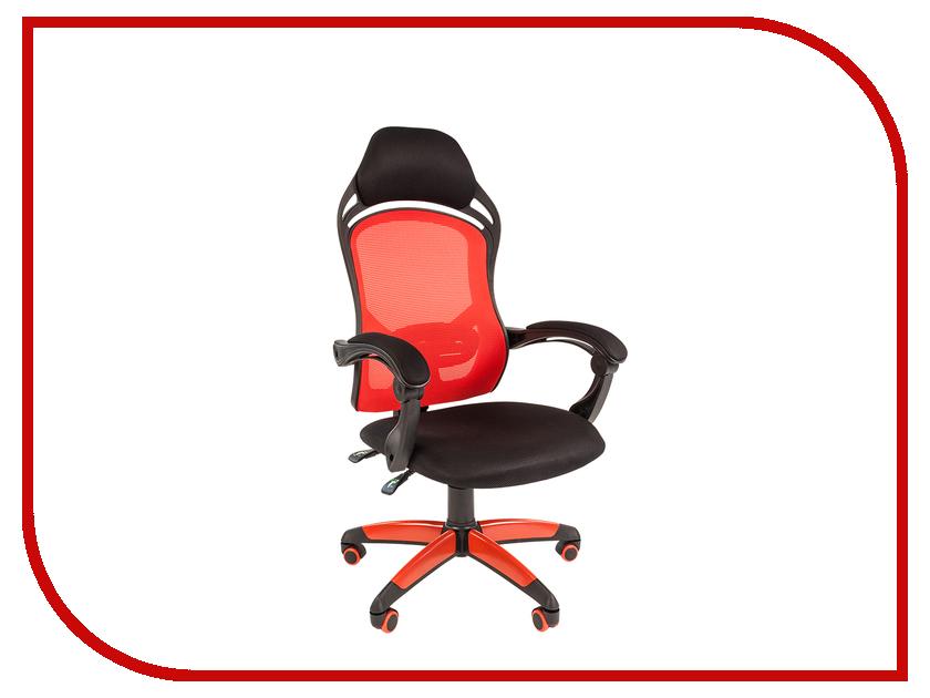 Компьютерное кресло Chairman Game 12 Black-Red 00-07016632 компьютерное кресло chairman 668 lt black 00 06113129