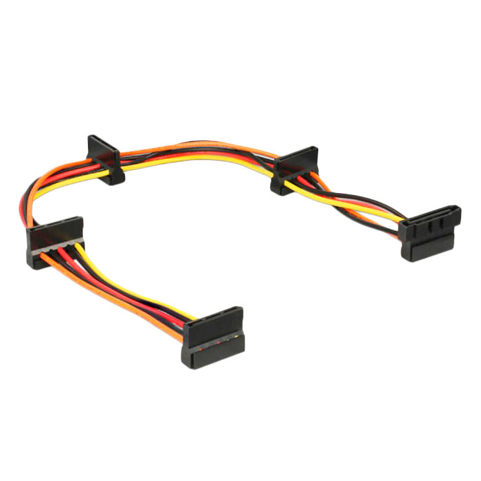 Аксессуар Кабель питания Gembird Cablexpert SATA 15-pin/F - 4x15-pin/M CC-SATAMF-03