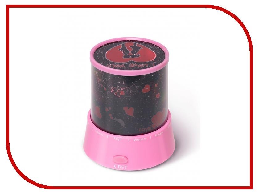 Светильник Ruges Осмо Проектор звездного неба Pink D-34 ночники roxy ночник проектор звездного неба олли