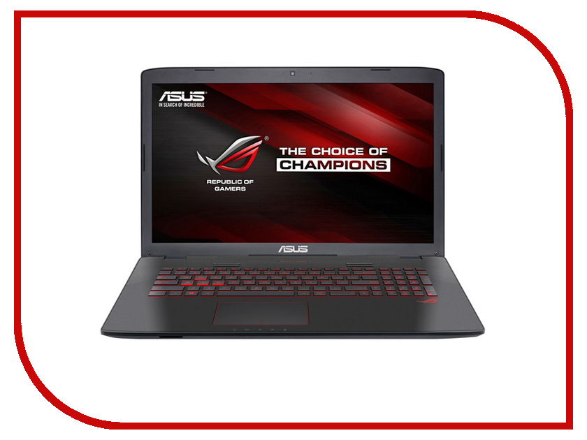 Ноутбук ASUS ROG GL752VW-T4535T 90NB0A42-M07530 (Intel Core i5-6300HQ 2.3 GHz/8192Mb/1000Gb/DVD-RW/nVidia GeForce GTX 960M 2048Mb/Wi-Fi/Cam/17.3/1920x1080/Windows 10 64-bit) цена