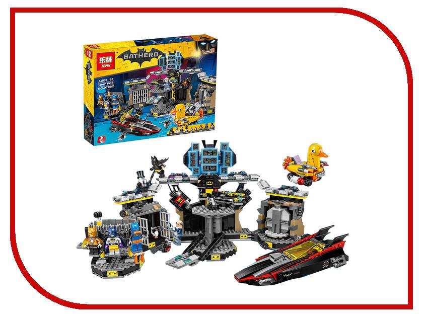 Конструктор Lepin Batman Нападение на Бэтпещеру 1121 дет. 07052 конструктор lepin fairytale сказочный замок спящей красавицы 360 дет 25012