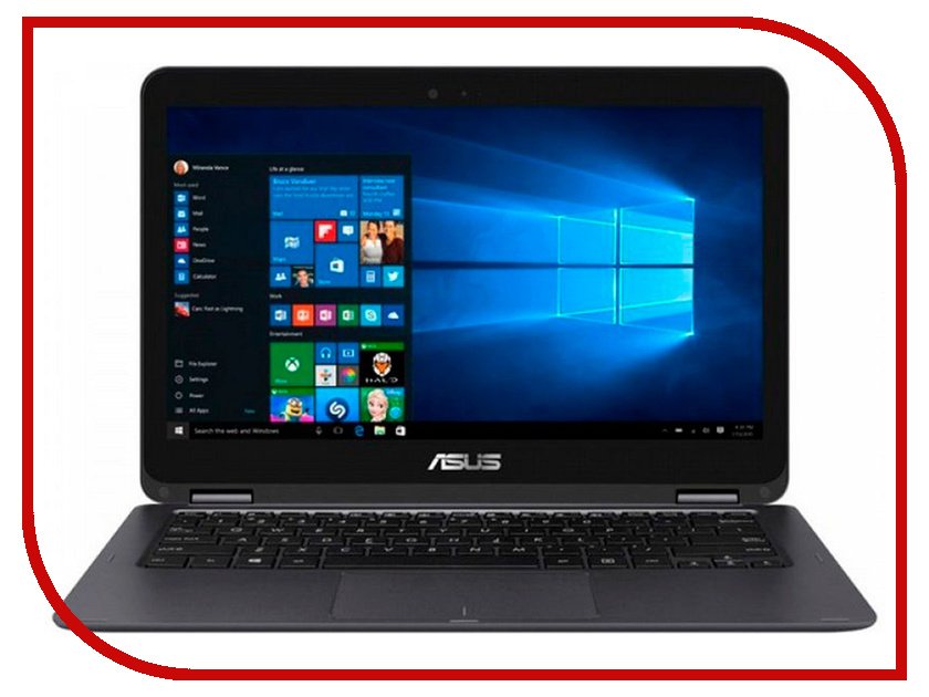 Ноутбук ASUS UX360CA-C4124TS 90NB0BA2-M03500 (Intel Core M5-6Y54 1.1 GHz/8192Mb/128Gb SSD/No ODD/Intel HD Graphics/Wi-Fi/Cam/13.3/1920x1080/Windows 10 64-bit) ультрабук asus zenbook flip ux360ca c4112ts 13 3 1920x1080 intel core m5 6y54 ssd 256 8gb intel hd graphics 515 серый windows 10 home 90nb0ba2 m03510