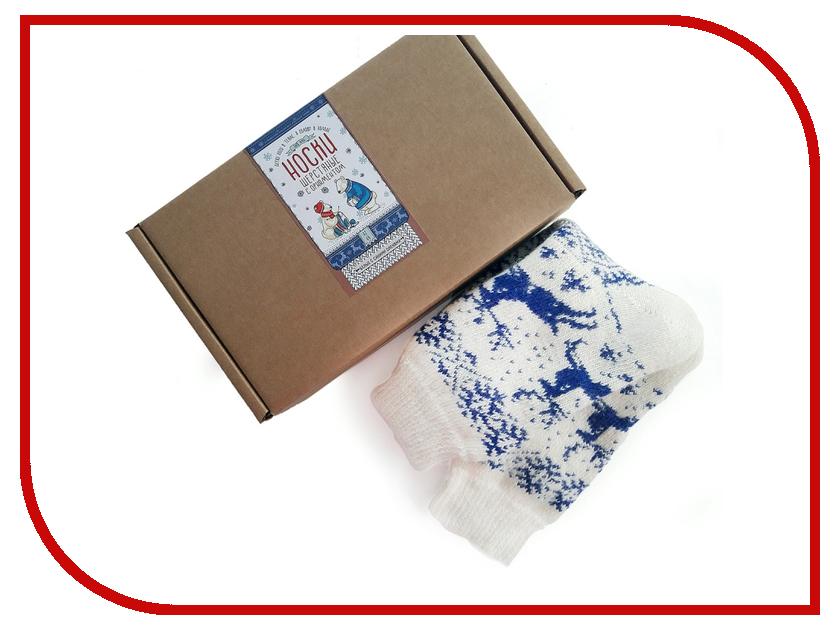 Гаджет Носки шерстяные Эврика Blue 98801 гаджет чашка с блюдцем эврика гигант 89016