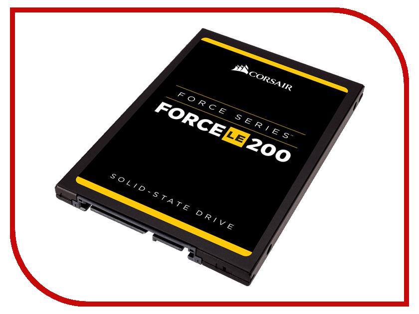все цены на Жесткий диск 480Gb - Corsair Force LE200 CSSD-F480GBLE200B