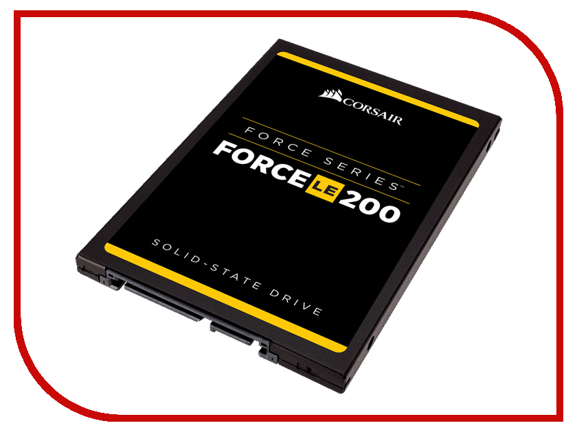 внутренние HDD/SSD CSSD-F120GBLE200B  Жесткий диск 120Gb - Corsair Force LE200 CSSD-F120GBLE200B