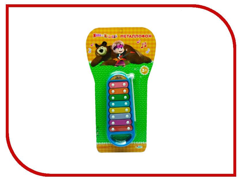 Детский музыкальный инструмент Играем вместе Металлофон Маша и Медведь B514604-R