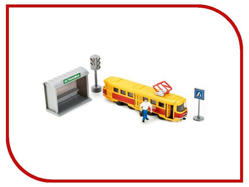 Машина Технопарк Трамвай SB-17-14-A-WB redston chris cunningham gillie face2face 2ed int sb dvd online wb pk