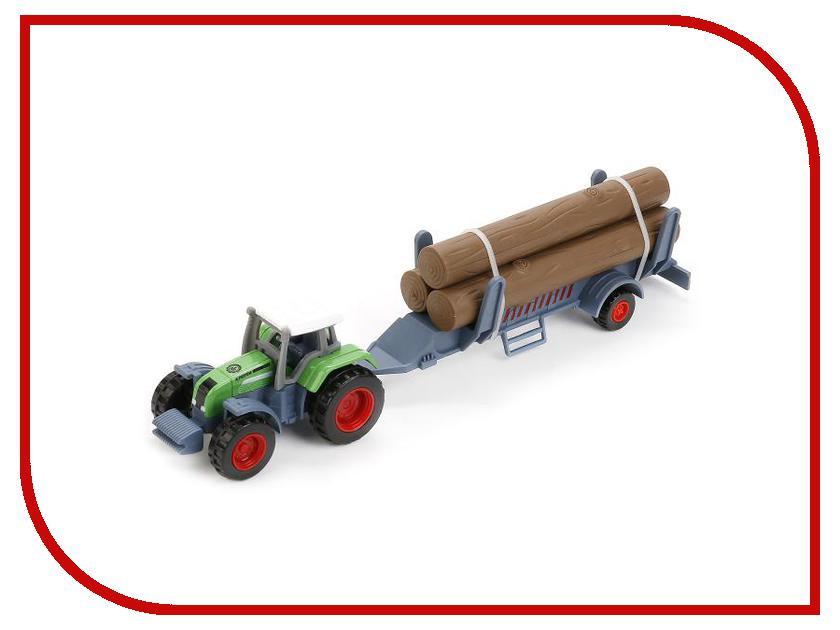 Игрушка Технопарк Трактор с прицепом 1801-1ACD-R игрушка технопарк зил 130 бензовоз x600 h09131 r