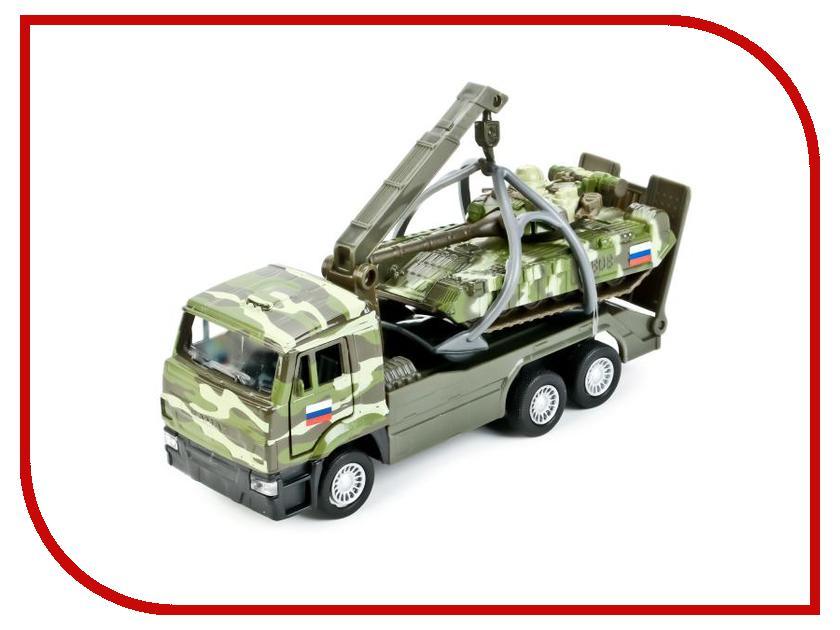 Игрушка Технопарк Камаз эвакуатор SB-17-24-D-WB игрушка технопарк lada в спорт окраске 3шт sb 16 79wb
