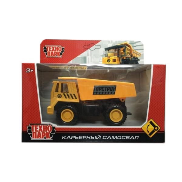 Игрушка Технопарк Карьерный самосвал 1813-1H-R игрушка технопарк трамвай 1079bc r