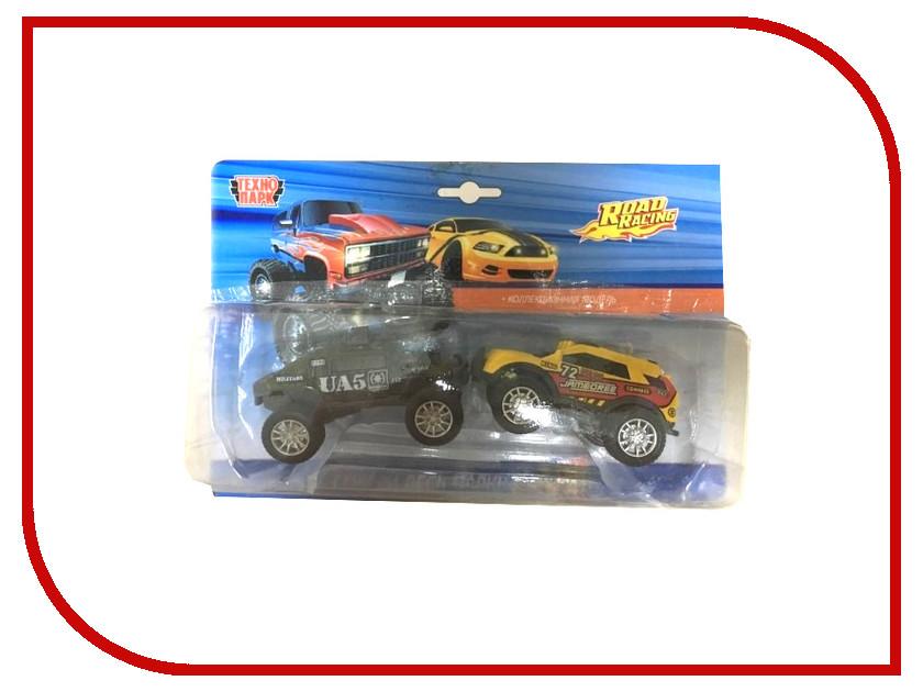 Машина Технопарк Джипи Набор из 2-х шт 90113-1RX2 3d головоломка роза красная 90113