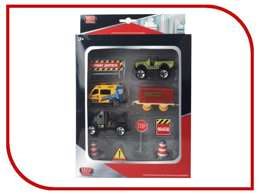 Машина Технопарк Набор с дорожными знаками 80913-6R 5pcs lot auo 6r au0 6r