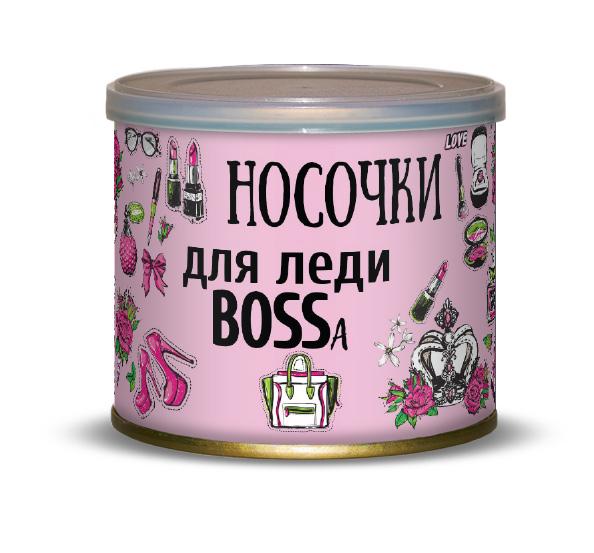 Носочки для леди BOSSa Canned Socks White 416185