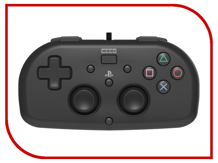 Геймпад Hori Horipad Mini для PS4 Black PS4-099E mortal kombat xl ps4