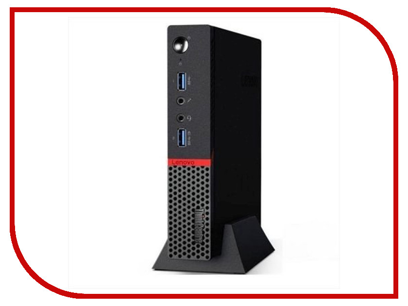 Настольный компьютер Lenovo ThinkCentre M700 Tiny 10HY003TRU (Intel Core i5-6400T 2.2 GHz/4096Mb/500Gb/DOS)