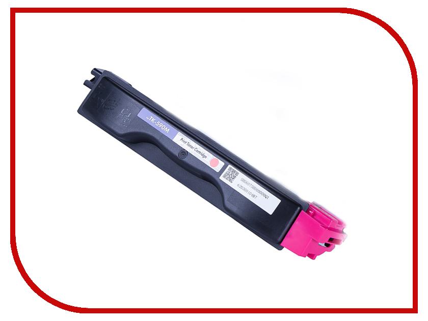 Картридж NV Print NV-TK590M Magenta для FS-C2026MFP/C2126/C2526MFP/C2626/C5250DN/P6026cdn/M6026cdn/M6526cdn картридж nv print для samsung sl m2620 2820 2870 3000k nv mltd115l