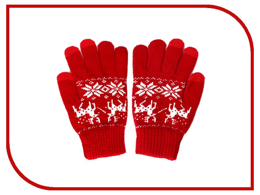 Теплые перчатки для сенсорных дисплеев iGloves P2 Red Deer