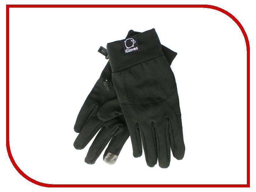 Теплые перчатки для сенсорных дисплеев iGloves F2 Black f2 denzel