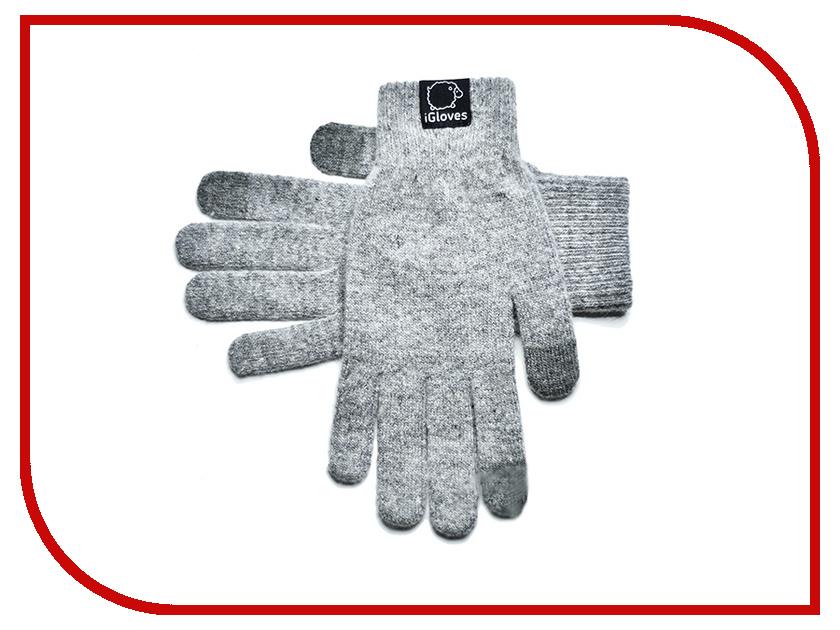 Теплые перчатки для сенсорных дисплеев iGloves B7 р.S Grey