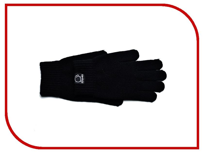 Теплые перчатки для сенсорных дисплеев iGloves B6 р.L-M Black