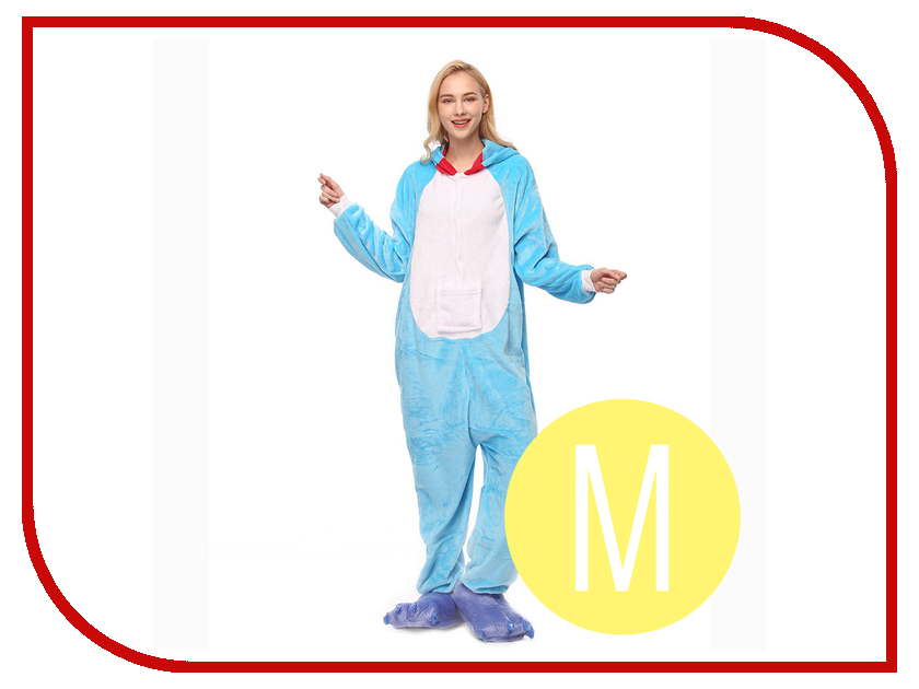 Пижама кигуруми Megamind Кот M Light Blue М7733 autumn winter girls children sets clothing long sleeve o neck pullover cartoon dog sweater short pant suit sets for cute girls