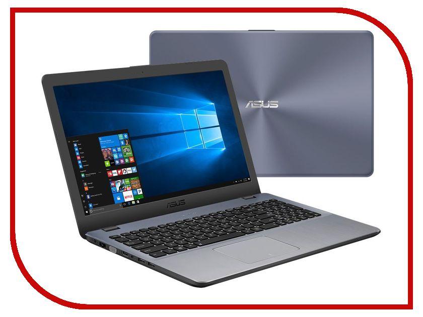 Ноутбук ASUS X542UQ-DM187T 90NB0FD2-M02440 (Intel Core i5-7200U 2.5 GHz/6144Mb/1000Gb/DVD-RW/nVidia GeForce 940MX 2048Mb/Wi-Fi/Bluetooth/Cam/15.6/1920x1080/Windows 10 64-bit) ноутбук acer aspire e5 575g 39mr nx gdwer 092 intel core i3 6006u 2 0 ghz 6144mb 1000gb dvd rw nvidia geforce 940mx 2048mb wi fi bluetooth cam 15 6 1920x1080 windows 10 64 bit