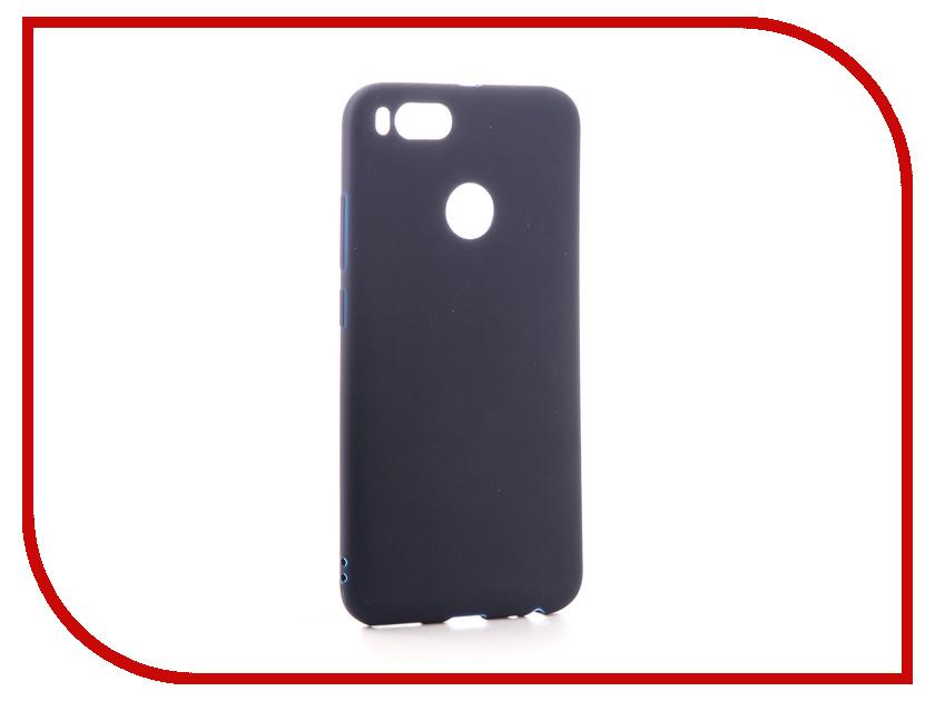 Аксессуар Чехол для Xiaomi Mi A1 / Mi 5X Neypo Soft Matte Silicone Dark Blue NST3274 mooncase s line soft flexible silicone gel tpu skin shell back чехолдля htc one m9 blue