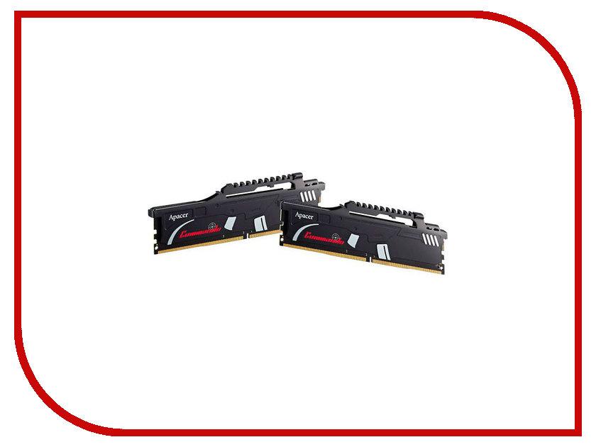 Фото Модуль памяти Apacer Commando DDR4 DIMM 2800MHz PC4-22400 CL16 - 16Gb KIT (2x8Gb) EK.16GAW.GFAK2