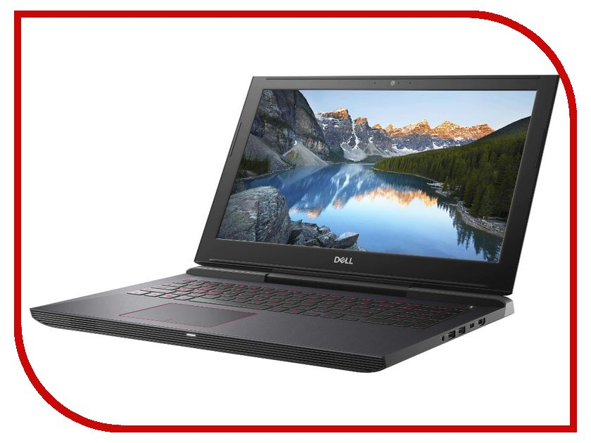 Ноутбук Dell Inspiron 7577 7577-5250 (Intel Core i7-7700HQ 2.8 GHz/16384Mb/1000Gb + 256Gb SSD/No ODD/nVidia GeForce GTX 1060 6144Mb/Wi-Fi/Bluetooth/Cam/15.6/1920x1080/Windows 10 64-bit)