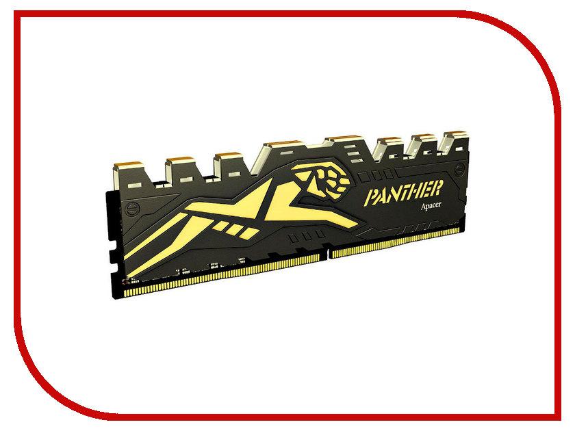Фото Модуль памяти Apacer Panther DDR4 DIMM 2400MHz C4-19200 CL16 - 8Gb EK.08G2T.GEC
