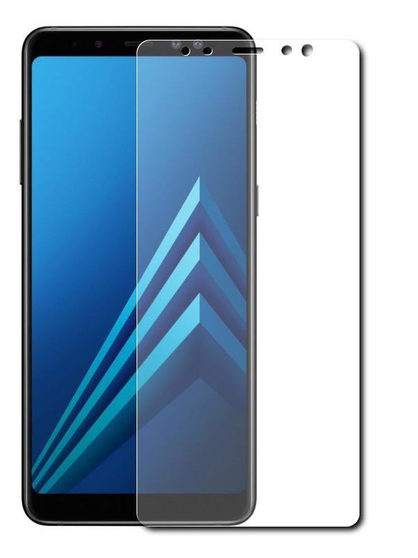 Аксессуар Защитная пленка Red Line для Samsung Galaxy A8 Plus 2018 А730 Full Screen TPU УТ000013962 protective glass red line for samsung galaxy a8 plus 2018 a730 full screen black