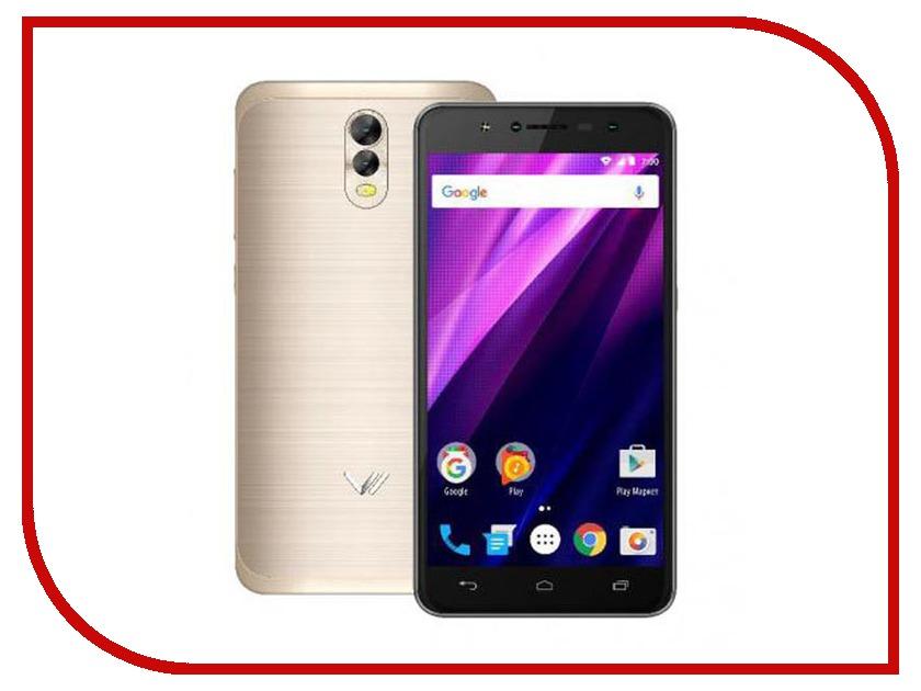 Сотовый телефон Vertex Impress Baccara Gold смартфон vertex impress groove gold